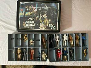 Vintage Star Wars Figures Lot - 100% Vintage Original Weapons Accessories