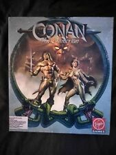 Conan the Cimmerian pc game 5 1/4 floppies
