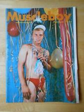 MUSCLEBOY bodybuilding muscle gay interest magazine/TRATE FARRELL 1-65