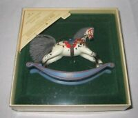 1984 Hallmark Rocking Horse Ornament