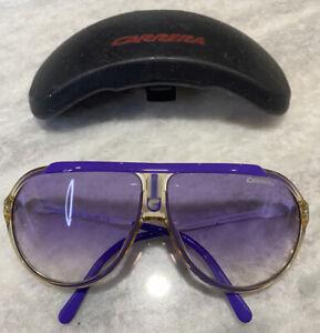 Carrera purple sunglasses for women