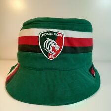 More details for leicester tigers rugby union bucket hat from upcycled official canterbury shirt