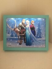 Disney Frozen LED Wall Art / Picture Frame Elsa/Anna/Sven/Kristoff 23cm x18cm