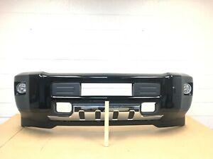 2015-2019 chevy silverado 2500-3500 front bumper with sensors (black color) #11