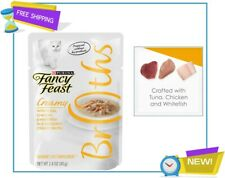 New listing Purina Fancy Feast Broths Adult Wet Cat Food Complement