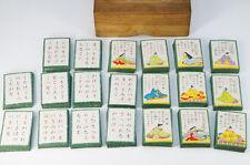 Japan OGURA HYAKUNIN ISSHU Card Game 100 Poets w/paulownia box Free Ship 614k06