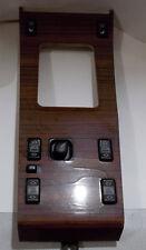 Mercedes W124 Zebrano Wood Center Shifter Switch Control Panel 300E E320 E420