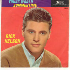 Rick Nelson Young World Summertime Imperial  PICTURE SLEEVE ONLY
