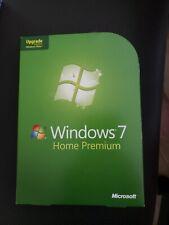 Microsoft Windows 7 Home Premium UPGRADE Version 32 & 64 Bit Disc with Key