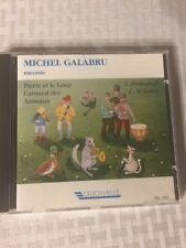 MICHEL GALABRU Pierre Et Le Loup Carnaval Des Animaux CD