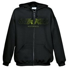 Overkill-historikill HSW Hoodie Zip dimensioni/Size XL NUOVO