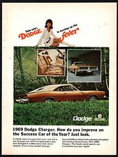 1969 DODGE CHARGER  Classic Sixties 60s Muscle Car AD