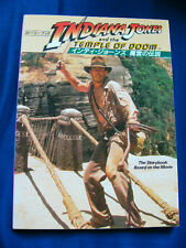 INDIANA JONES AND THE TEMPLE OF DOOM Harrison Ford Japan VINTAGE Photo & Story B