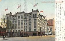 CADILLAC HOTEL Detroit, Michigan 1908 Vintage Postcard