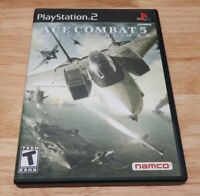 Ace Combat 5 The Unsung War PS2 Disc Only Tested Sony PlayStation 2 Game GH