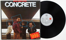 999 - Concrete LP FIRST 1981 GERMANY PRESS Lurkers Maniacs Users Vibrators Punk
