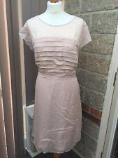 Boden Size 18 Peach/Cream Occasion Midi Dress - BNWT! Bridesmaid