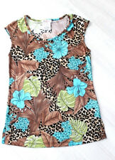 KIM & CO. Jersey Tunika Bluse Floral - Druck XS (36-38)