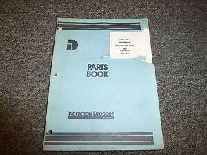 Komatsu Dresser 118B Motor Grader Parts Catalog Manual Book S/N 07601-10750