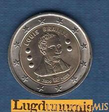 2 euro Commémo - Belgique 2009 Louis Braille Belgium