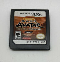 Avatar: The Last Airbender (Nintendo DS, 2006) Game Only NICE!!!-