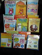 17 Teacher Activity Books~Blackline Masters~PreK-2nd grade,Home school~Reading+