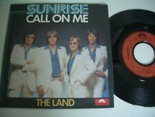 SUNRISE 45T CALL ON ME/THE LAND.FRENCH PRESS POLYDOR 2041 936.