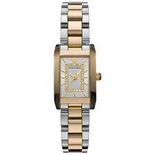 NEW EMPORIO ARMANI AR3171 LADIES GOLD TWO TONE DIAMOND WATCH - 2 YEAR WARRANTY