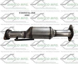 Catalytic Converter-Exact-Fit Rear Davico Exc CA 19587