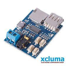 XCLUMA TF CARD U DISK MP3 FORMAT DECODER AMPLIFIER DECODING AUDIO PLAYER BE0300