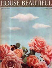 1937 House Beautiful Giugno - Giochi; Nova Scozia; 32 Gazebo; N Hollywood Casa