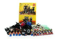 Lego Castle Set 6085 Black Monarch's Castle 100% complete + instructions 1988