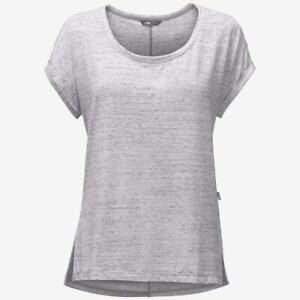 The North Face Womens EZ Dolman Top Shirt White Melange