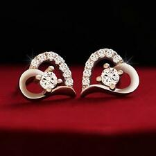 2016 New products 925 silver jewelry cordiform fashion stud earrings Fine gifts