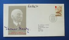 1990 Thomas Hardy FDC firmato da Ruth Rendell [ ispettore Wexford ]