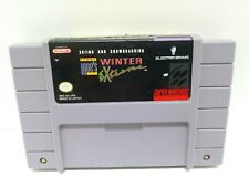 Skiing Snowboarding: Tommy Moe'S Winter Extreme Super Nintendo Snes Cart Only