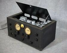 1934: RME 9d - Einer der ersten professionellen Kurwellenempfänger, restauriert!