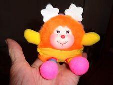 """Vintage 1 983 Baby Srite Rainbow Brite Mattel Hallmark Yellow Diaper 4.5"""" Rare"""