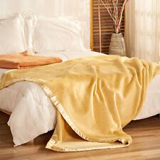 Real silk velvet blanket 100% mulberry silk blanket bed cover Spring quilt sheet