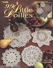 99 Little Doilies Patricia Kristoffersen Doily Crochet Pattern Book LA #3228 NEW