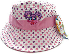 Sesame Street ABBY CADABBY Bucket Sun HAT Polka Dot Summer New One size Small