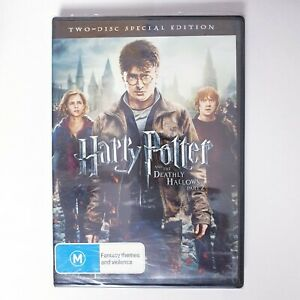 Harry Potter Deathly Hallows Part 2 Movie DVD Region 4 AUS Free Postage