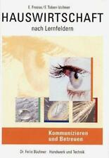 Hauswirtschaft nach Lernfeldern von Erna Toben-Vollmer und Enne Freese (2011, Taschenbuch)