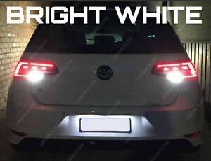 2x Golf MK7 2013-on LED Bright White Reverse Light Bulbs SMD Error Free LED