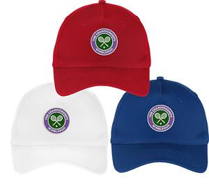 Wimbledon Tennis tournament Embroidered Cap Hat 5 panel