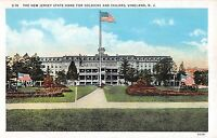 c.1920 NJ State Home for Soldiers & Sailors Vineland NJ post card