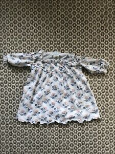 Feather Baby Top Blouse, Pima, Baby Size 3-6 Months