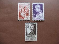FRANCE neufs  n° 792 à 794 (1947-48)