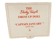 Dm-07 - Shirley Temple / Dress Up Doll / Captain January / Sailor Suit