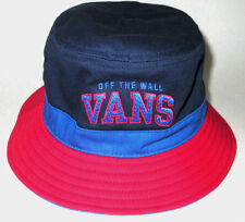 MENS VANS BLUE/RED BUCKET HAT SIZE L/XL
